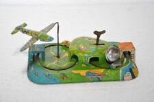 Rare Vintage Wind Up Central Station Litho Tin Toy , Japan ?