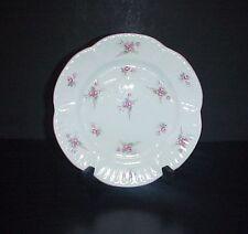 "Shelley Bridal Rose Salad Plate 8"" Pink Roses Pattern 13545"