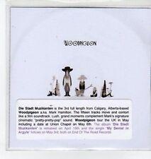 (BO623) Woodpigeon, My Denial In Argyle - 2010 DJ CD