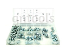110 Hydraulic Brake Grease Nipples Assortment M6 M8 M10 Straight 45 & 90 Degree