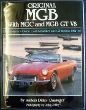 ORIGINAL MGB WITH MGC AND MGB GT V8 ANDERS DITLEV CLAUSAGER CAR BOOK