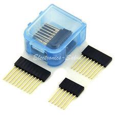 2x6pin 4x8pin 2x10pin Single Row Header Socket Connector Kit, for Arduino DIY.
