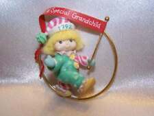 Jolly Holidays 1992 Grandchild Carlton Cards Heirloom Christmas Ornament New
