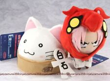 Lucky Star Macross F Nyamo Akira plush Doll set Ichiban Kuji Banpresto anime