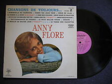 LP ANNY FLORE - CHANSONS DE TOUJOURS VOLUME 2 / excellent état