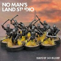 Pro Painted Lotr Uruk Hai warriors ×10 Warhammer lord of the rings orks 28mm