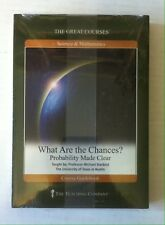 The Great Courses : What Are the Chances? (Guidebook + DVD) 2-Disc Set Sealed