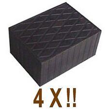 4Xbloc de caoutchouc160x120x80 mm.pour Pont elevateur-fabriqué en Italie-tampons