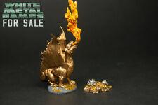Painted Gold Dragon WYRMLING Treasure Pile D&D Nolzur's Marvelous Minis WZK90028