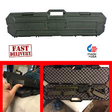 Protective AK 47 Gun Hard Case AR-15 Storage Box Durable Weatherproof Resistant