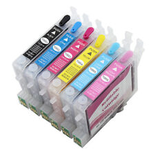 Mini CISS 6 Color Refillable Inner Ink Cartridge For EPSON R330 1390 1400 T50 R2