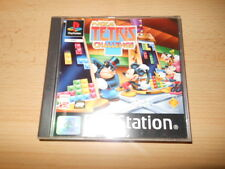 Disney's Magical Tetris Challenge Sony PlayStation 1 ps1 MINT COLLECTORS pal