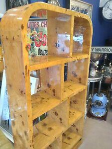 Art deco bookcase Cabinet Walnut Furniture
