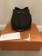 Louis Vuitton Neo Noe Noir Handbag With Receipt Box And Dustbag