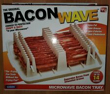 Emson Bacon Wave, Microwave Bacon Cooker Tray NEW