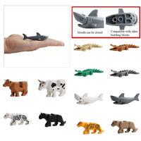 Crocodile Tiger Buildable Model kids Animal Building Block Fit LEGO Adjustable
