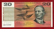 1972 Australia Twenty Dollars Phillips/Wheeler VF XGA 345393