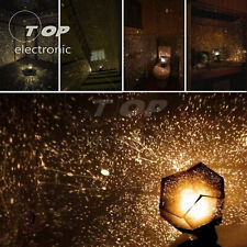 Romantic LED starry night sky projection lamp children's gift starlight light