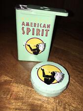 Natural American Spirit Zigarettendose Grün plus Taschenaschenbecher