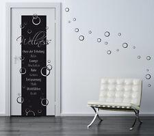 Wellness oasis + 30 burbujas cuarto de baño baño decoración de pared Pegatina murales