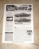 Classic Auto Restorer Magazine 1962 Chevrolet Chevy and More July 1997