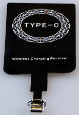 Qi Wireless Charger cargador receiver receptor universal USB 3.1 Type-C nuevo