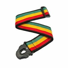 Planet Waves Planet Lock Guitar Strap, Jamaica