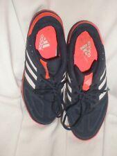 Lightly Worn ADIDAS  Black  Indoor Soccer Shoes Sneakers 10 US