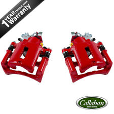 Rear Red Brake Disc Calipers For 2005 2006 2007 2008 2009 2010 Ford Mustang S197