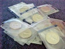 21 - 1989 P WASHINGTON QUARTERS FROM MINT SETS IN CELLO     BU