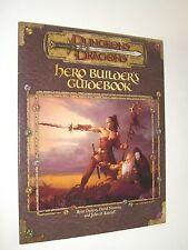 HERO BUILDER'S GUIDEBOOK ACCESSORY Wotc TSR 11647 AD&D D&D MINT