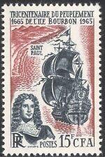 Reunion 1965 E Regnault/Ship/Sailing/Explorer/Boat/Transport/History 1v (n43689)
