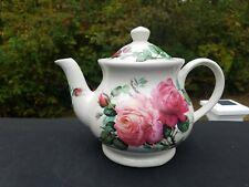Sadler England Teapot Windsor Roy Kirkham Design Roses Excellent!