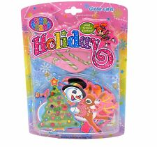 Lisa Frank Frosty Rudolph Crafts Holiday Glitter Christmas XMAS Cards