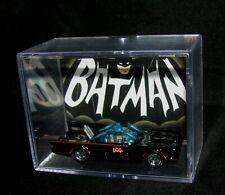 L@@K~The Batmobile ..Diecast Car  Display/Acrylic case ..BRAND NEW..