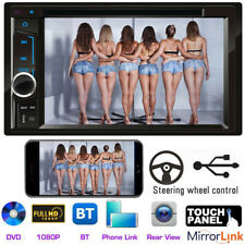 """For Vauxhall Opel Astra 6.2"""" Double Din Car Stereo DVD Player Radio Mirror Link"""