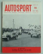 AUTOSPORT Magazine 16 Oct 1959 - Snetterton Three Hours + Watkins Glen