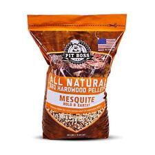 All Natural Wood Texas Mesquite Hardwood BBQ Grilling and Smoking Pellets 20 lbs