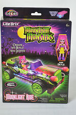 New Lite Brix Moonlight Monsters Moonlight Ride Create and Build with Lights #SS