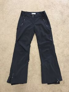 Columbia Titanium Omni-Tech Crystal crest softshell Ski Snow Pants Sz S