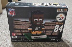 Antonio Brown Steelers #84 BRXLZ Player 3D Toy PUZZLE 395 Pcs NFL Ages 6+