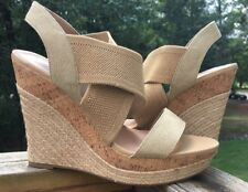 Charles by Charles David Allison Platform Sand Wedge Sandals SZ 11