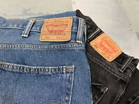 MENS VINTAGE LEVIS 550 RELAXED FIT JEANS - ALL SIZES AND COLOURS - W30 - W58