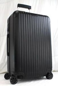 RIMOWA ESSENTIAL CHECK-IN M MULTIWHEEL HARDSIDED SUITCASE MATTE BLACK