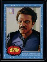 2019 Topps Star Wars Living Set #17 Lando Calrissian SP The Empire Strikes Back
