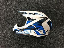 KENNY Tactic Motocross Helm Enduro MX Motorrad Helmet Gr. S Blauw /wit