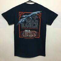 Auburn Tigers T-Shirt The Flight Of War Eagle Tee Color Navy - NWT