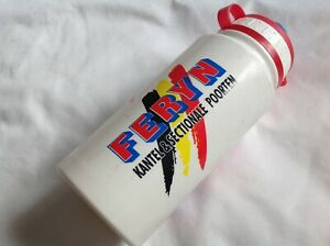 ELITE RED WATER BOTTLE x1 - USED CONDITION