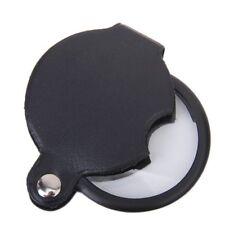5 Fach Lupe Vergrößerungsglas Taschenlupe Leselupe Glas Juwelierlupe Leuchtlupe