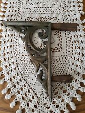 Antique Cast Iron Architectural or Garden Salvage Corner Accent Scrollwork
